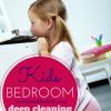 Kids' Deep Cleaning Bedroom Checklist