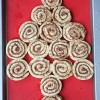 5 Minute Cinnamon Roll Christmas Tree