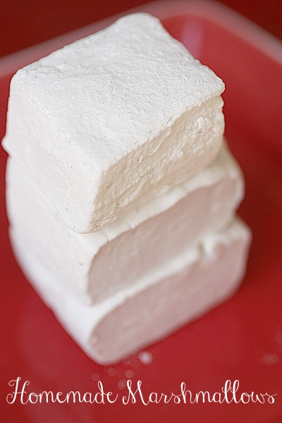 Everyone needs to make Homemade Marshmallows at least once. They are so fun!