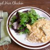 Crockpot Angel Chicken (Cook Once, Serve Twice)