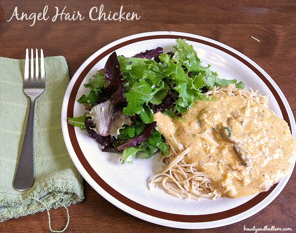 Crockpot Angel Chicken (Cook Once, Serve Twice)