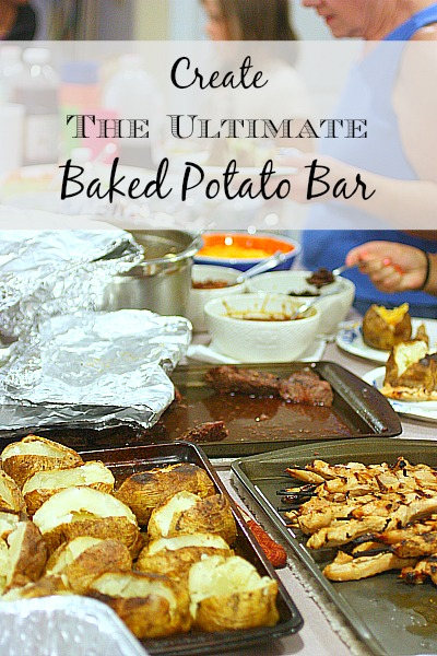 Create the Ultimate Baked Potato Bar - Balancing Beauty and Bedlam