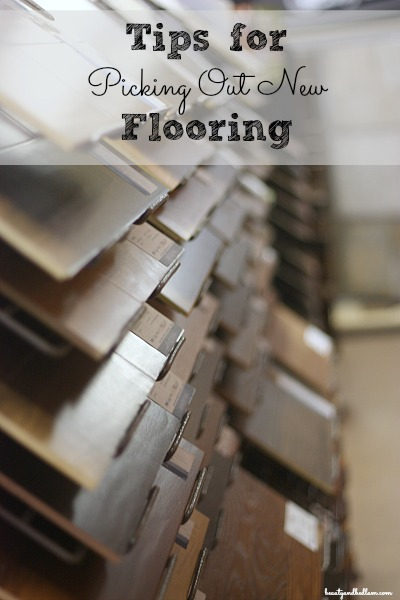 Tips for Picking Out New Flooring