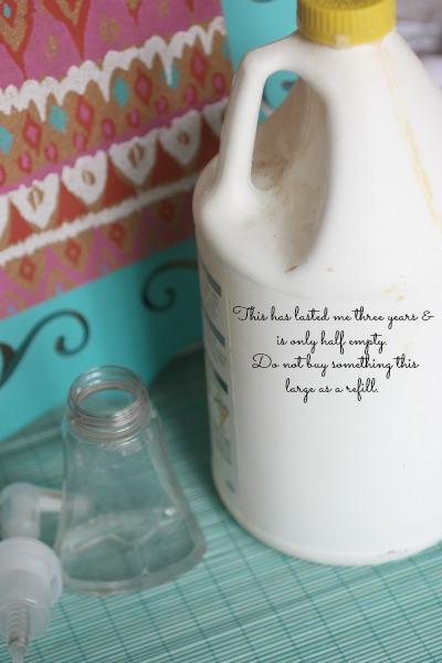 Diy Hand Foaming Soap How To Make Antibacterial Soap