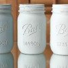 Life's Simple Pleasures: Painted Mason Jars