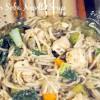 Skinny Chicken Soba Noodle Soup