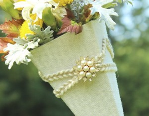 May Day Basket created in a very elegant style