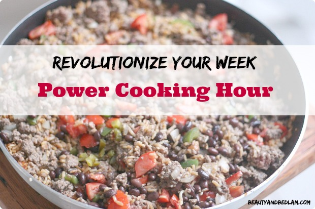 Revolutionize Your Week: Power Cooking Hour