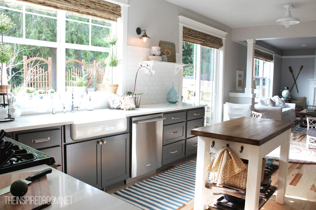 Spontaneous Kitchen Demo New Floors Balancing Beauty