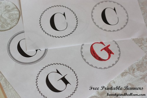 Free Printable Banners With Many Choices And Styles  Free Letters Templates