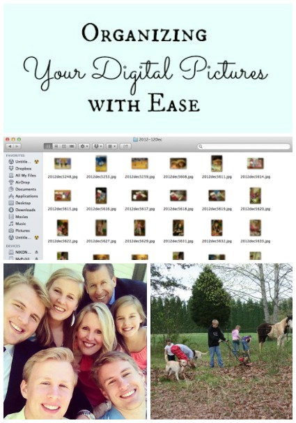 Learn How to Organize your Digital Pictures with Ease @beautyandbedlam