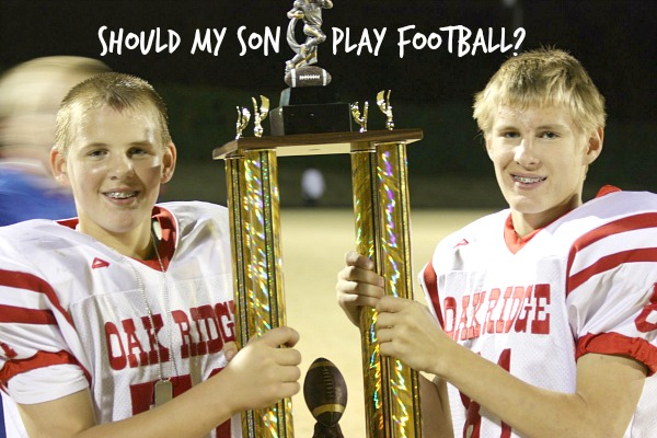 The hard questions to ask before you sign your son up for football. Tips and thoughts from a football mom.
