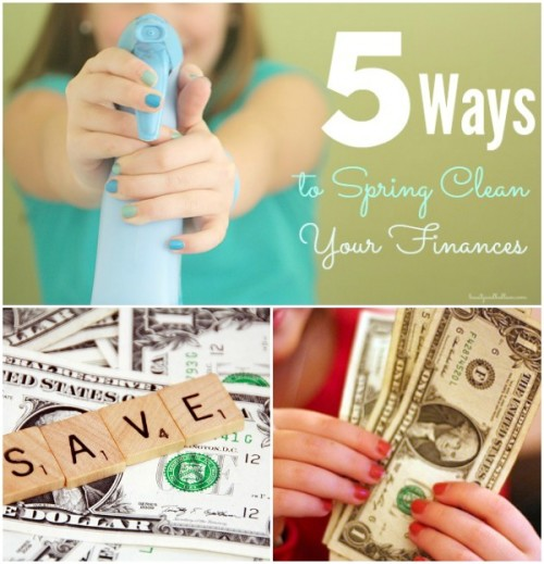 Simple, practical tips to help you save thousands. 5 Ways to Spring Clean Your Family Finances and put more cash in the bank now!