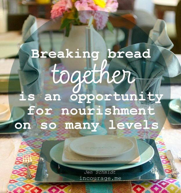 The Heart of Hospitality. Breaking bread is about so much more than food.