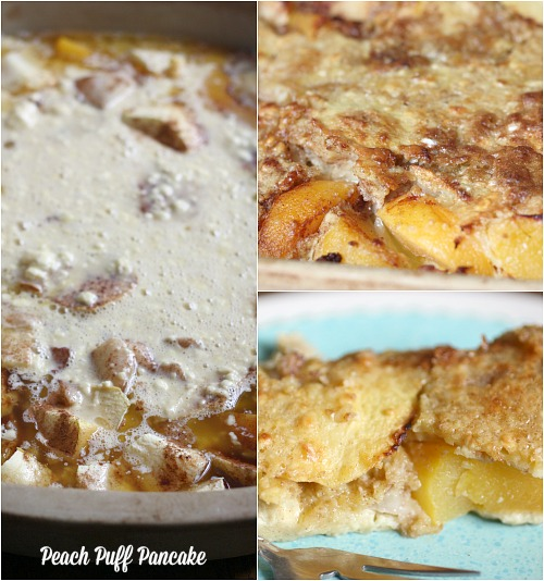 Peach Puff Pancakes make an appearance nearly every weekend.