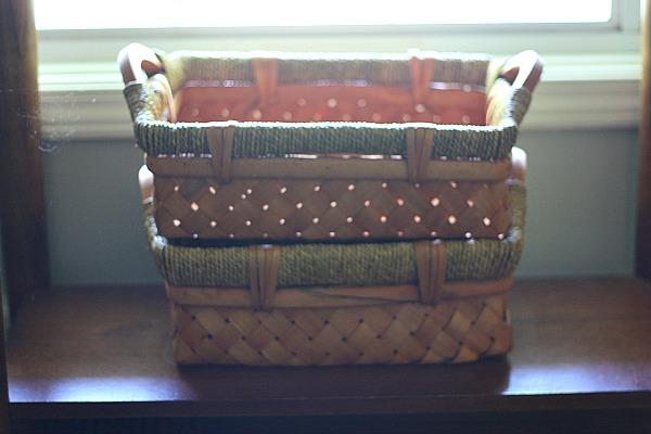 Three beautiful baskets for $0.75
