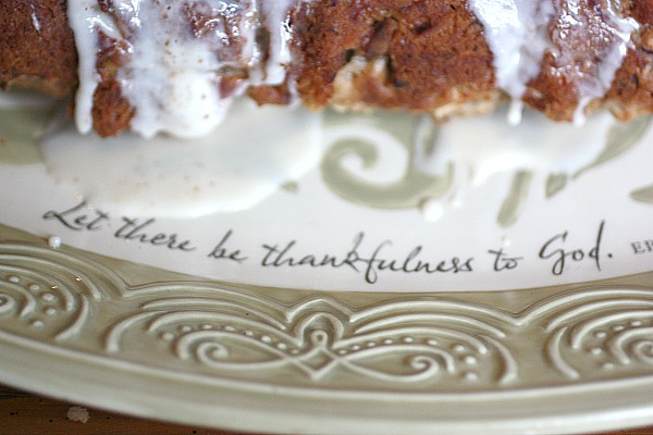 Adorable Thankfulness platter