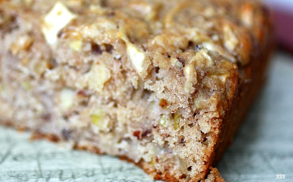 Delicious healthy apple bread packed with goodness