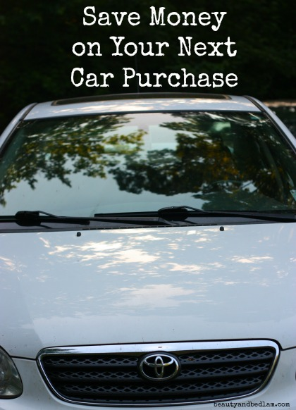 Save Money on Buying a Car