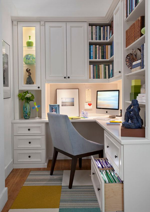 Corner office space utilized perfectly