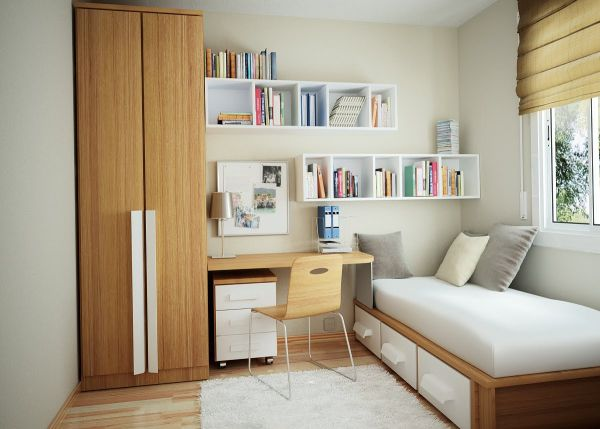 Small bedroom organizing ideas