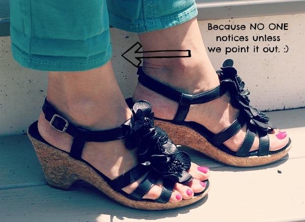 Adorable leather sandels