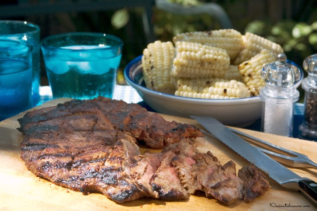 Grilled Chipotle Skirt Steak - so easy, so delicious!