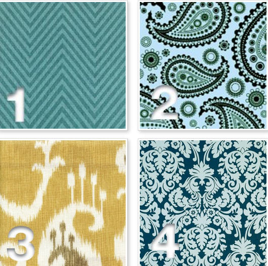 Love the mix and match of these patterns @havertys