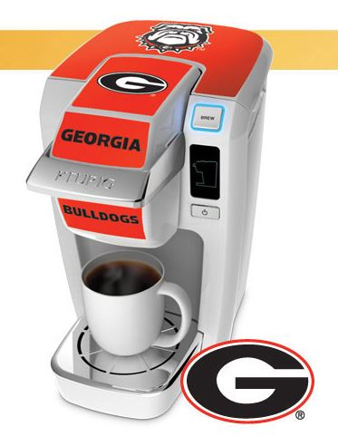 Mini Brewer Keurig Georgia Bulldogs