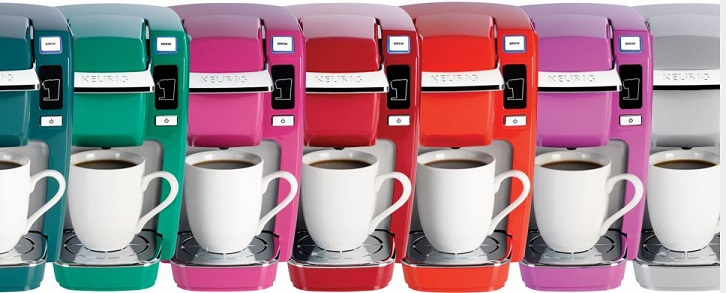Keurig Personal Brewers with tons of colors
