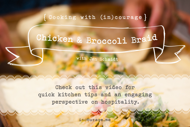 Quick kitchen tips and tutorial on making simple family meals.