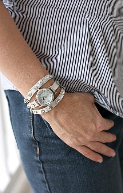 $2 watch bracelet