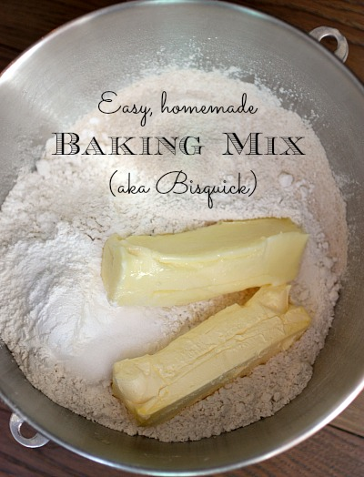 Easy Homemade Bisquick (Baking Mix)