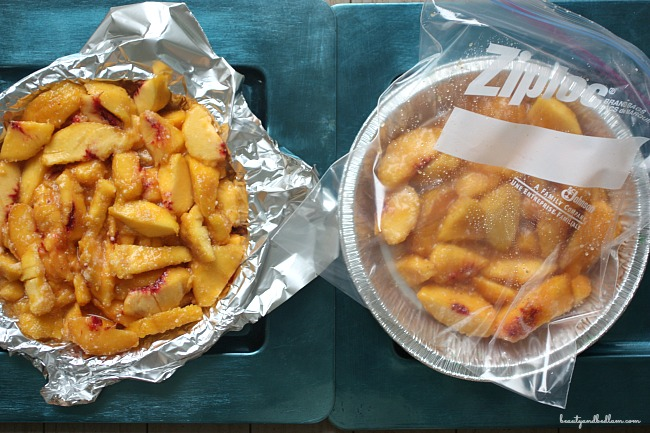 Freeze Fresh Peach Pies in Bulk and have it ready in minutes