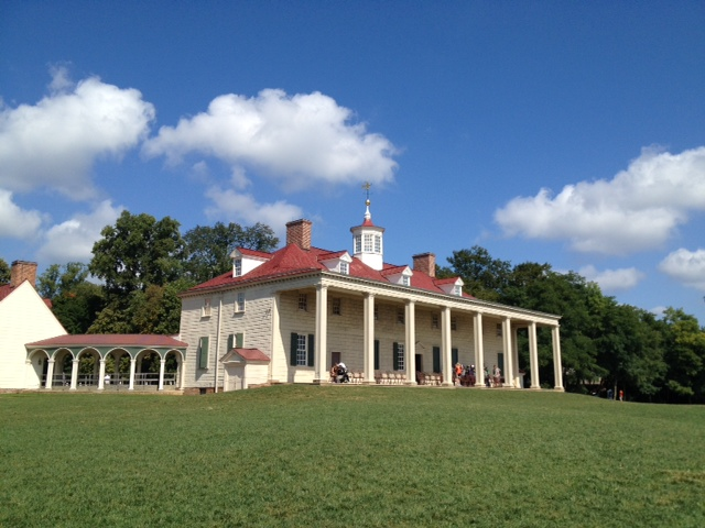 Front view of Mount Vernon