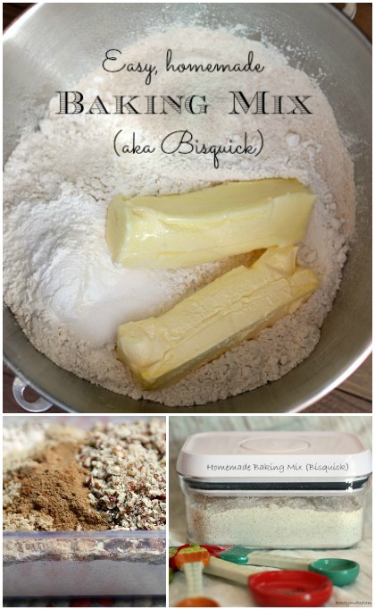 Easy Homemade Bisquick (Baking Mix