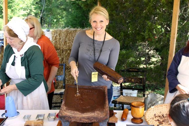 Mount Vernon American Heritage Chocolate exhibition