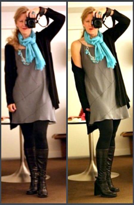 One dress, one way frugal fashion