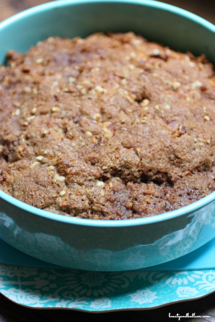 Healthy Pumpkin Coffee Cake (using homemade Bisquick)