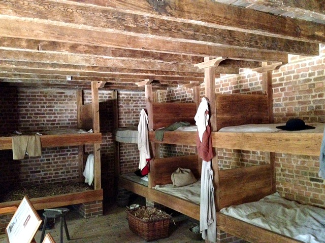 Slave quarters at Mount Vernon