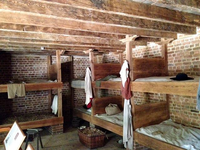 Slave quarters at Mount Vernon
