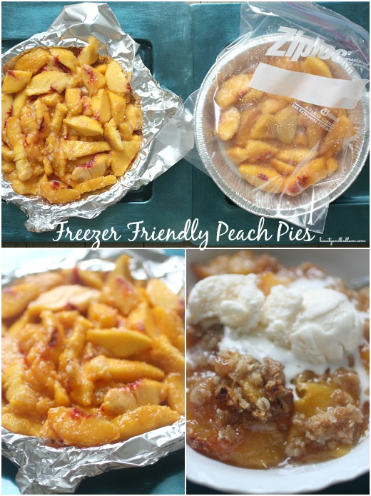 This freezer friendly peach pie recipe is brilliant. I had this peach pie filling made in minutes and now freezer is packed with treats.