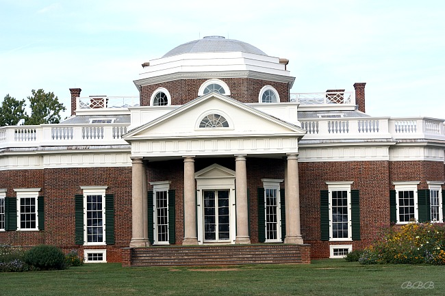 Monticello and the history of chocolate balancing beauty for Thomas jefferson house monticello