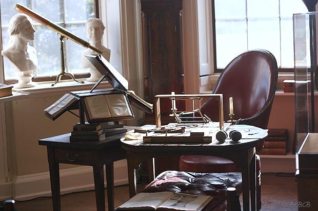 Thomas Jeffersons study at Monticello