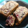 Triple Berry Quick Bread (using homemade baking mix)