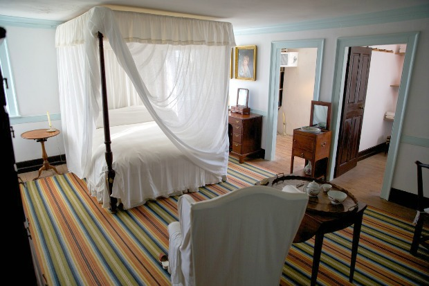 Washington Bedchamber at Mount Vernon
