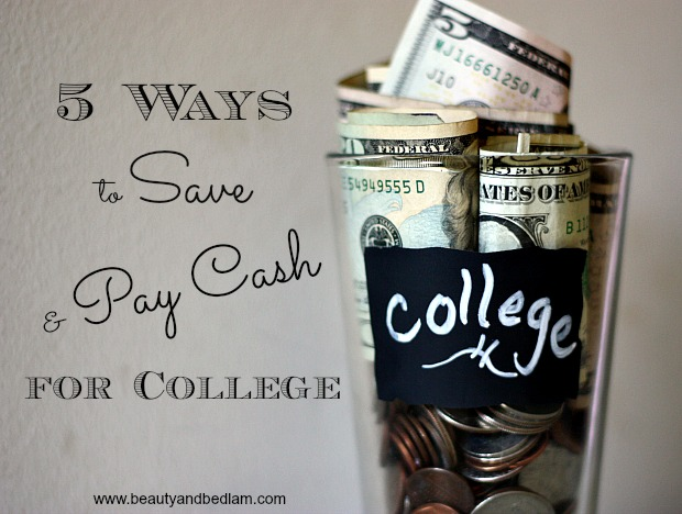 We will have four kids in college at the same time. How we are saving and paying cash for college