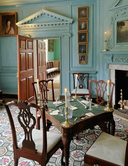 West Parlor at Mount Vernon