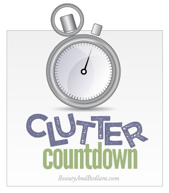 Join me for this Clutter Countdown: 15 Minutes a Day to revolutionize our homes and begin a new habit.