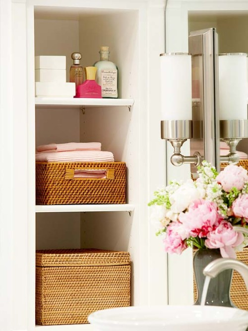 Bathroom storage and speed cleaning tips and ideas
